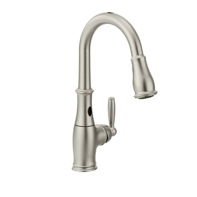 Moen Brantford Motionsense Two-Sensor Touchless One-Handle High-Arc Pulldown