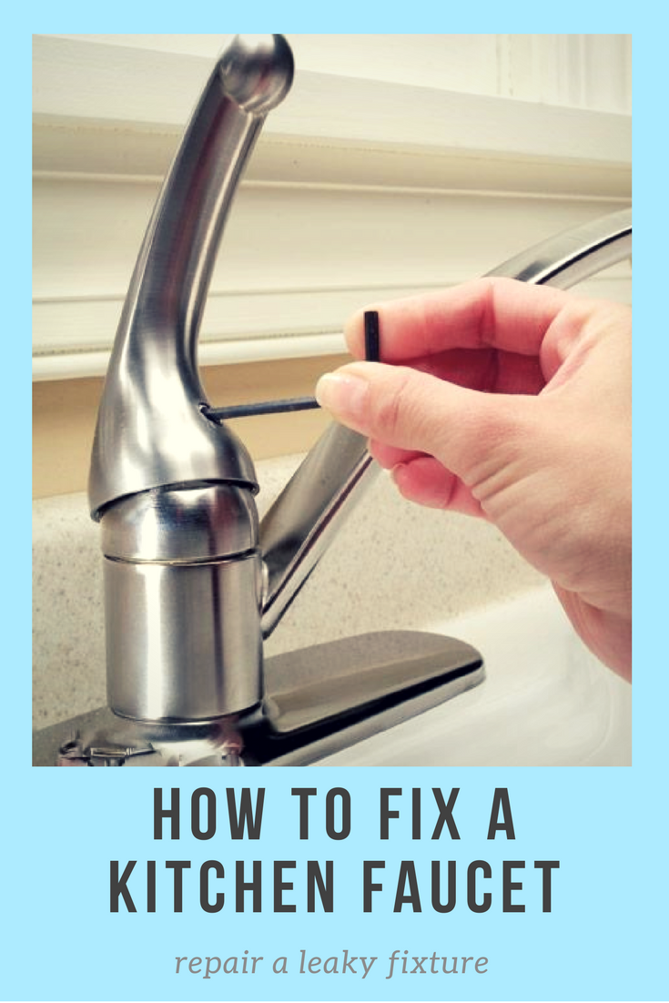 unscrewing faucet