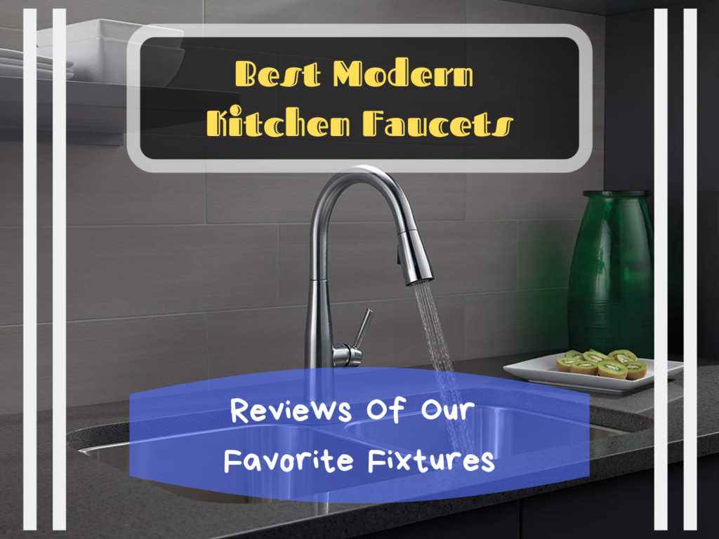 Best Modern Kitchen Faucets Featured Image