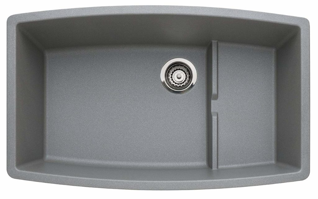 Blanco 440067 Performa Single Basin Undermount Granite Kitchen Sink