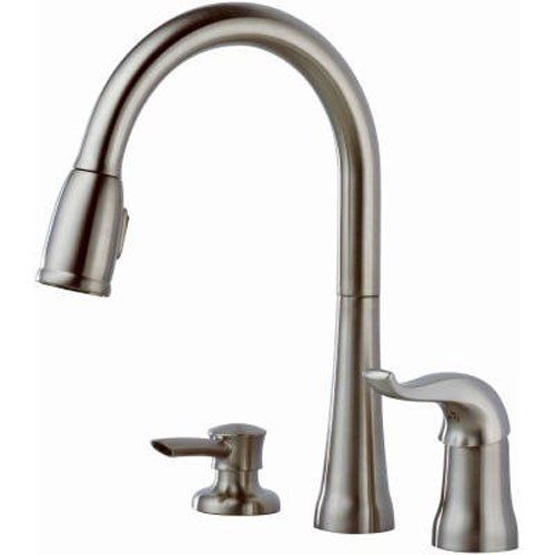 Delta Faucet Kate Single-Handle Kitchen Faucet 16970-SSSD-DST