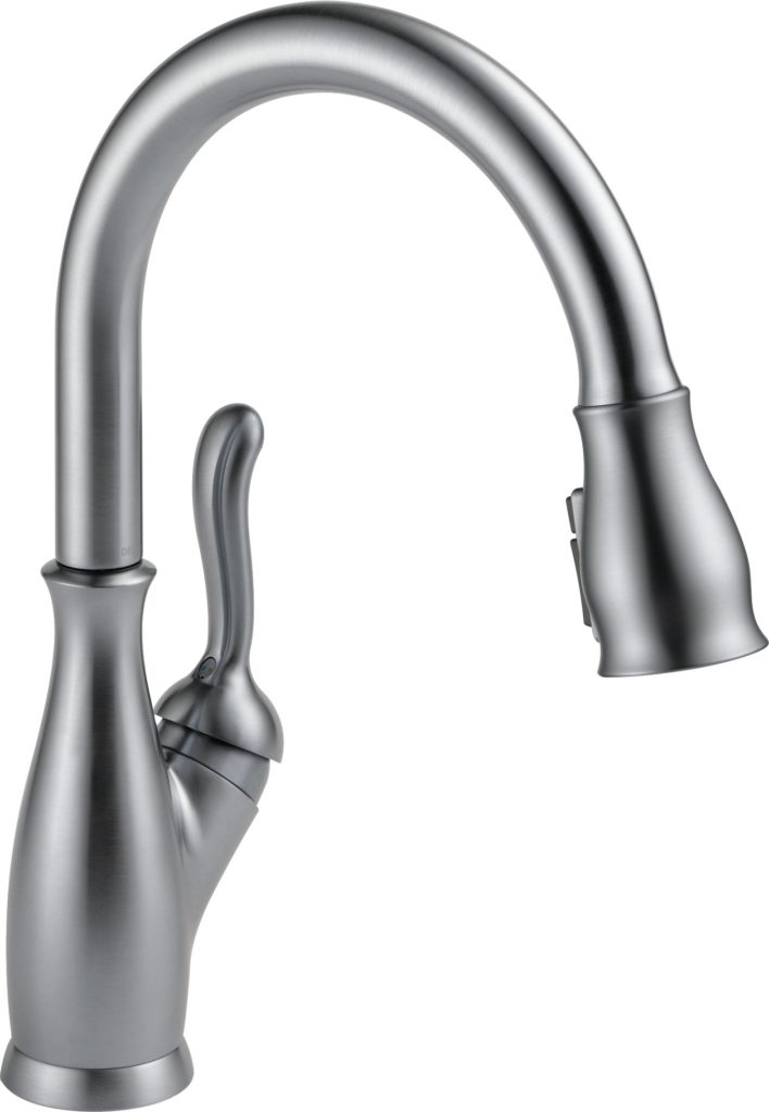 Delta Faucet Leland Single-Handle Kitchen Sink Faucet With Pull-Down Sprayer