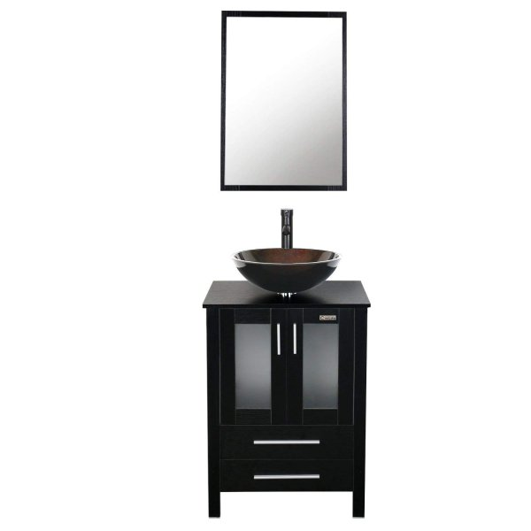 EClife 24-inch Bathroom Vanity Combo