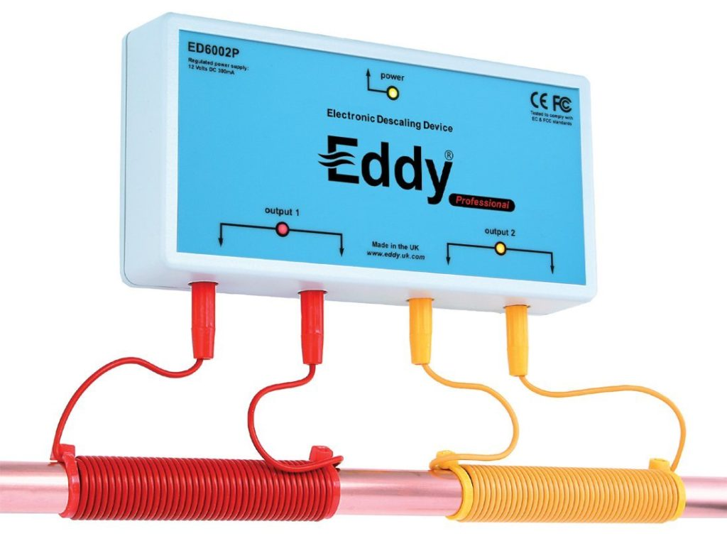 Eddy Electronic Water Descaler and Alternative Water Softener
