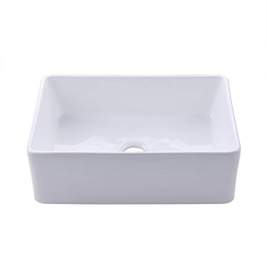 KES Fireclay Sink Farmhouse Kitchen Sink