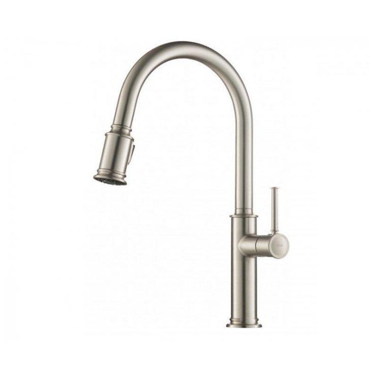Kraus KPF-1680SFS Sellette Single Handle Pull-Down Kitchen Faucet