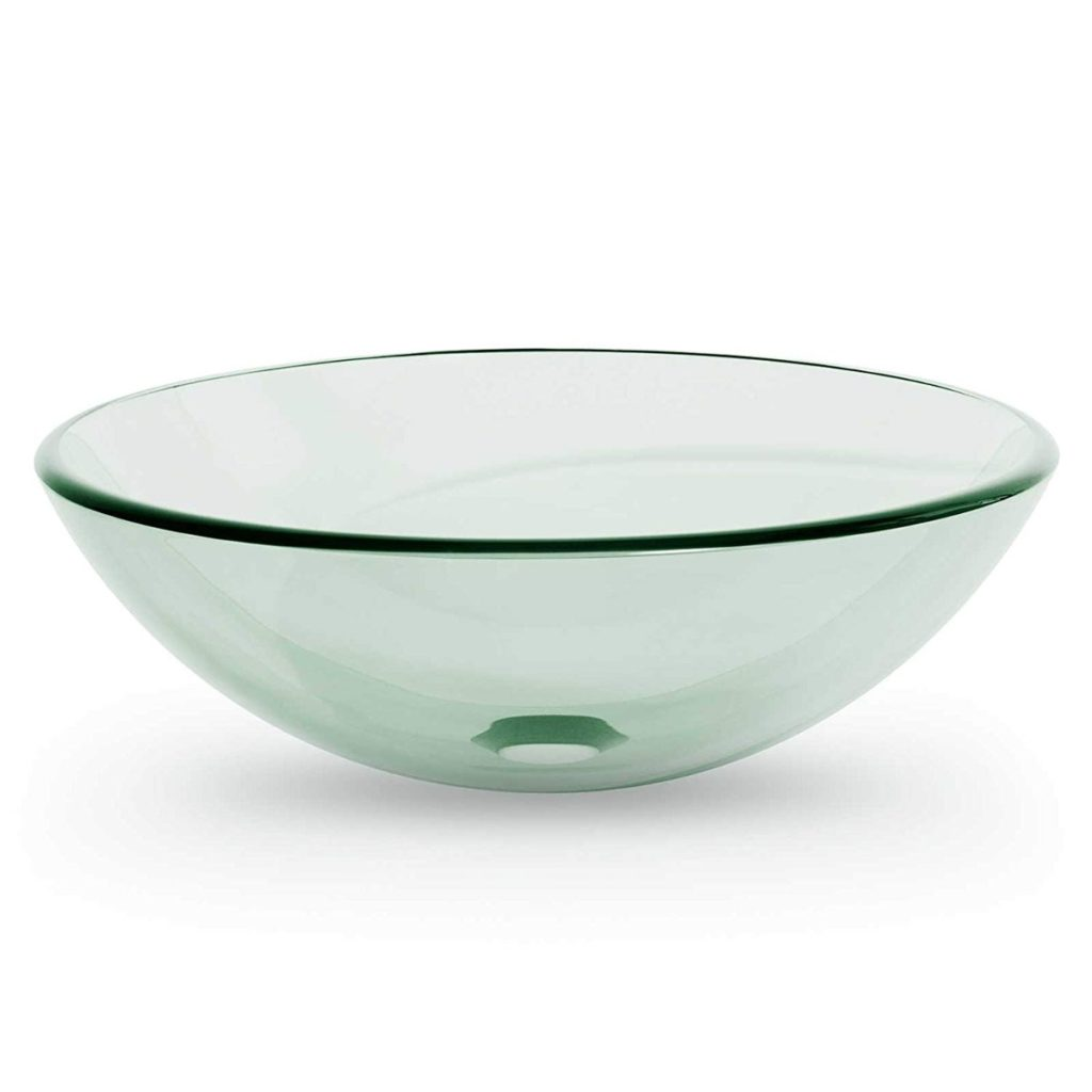 Miligore Modern Glass Vessel Sink