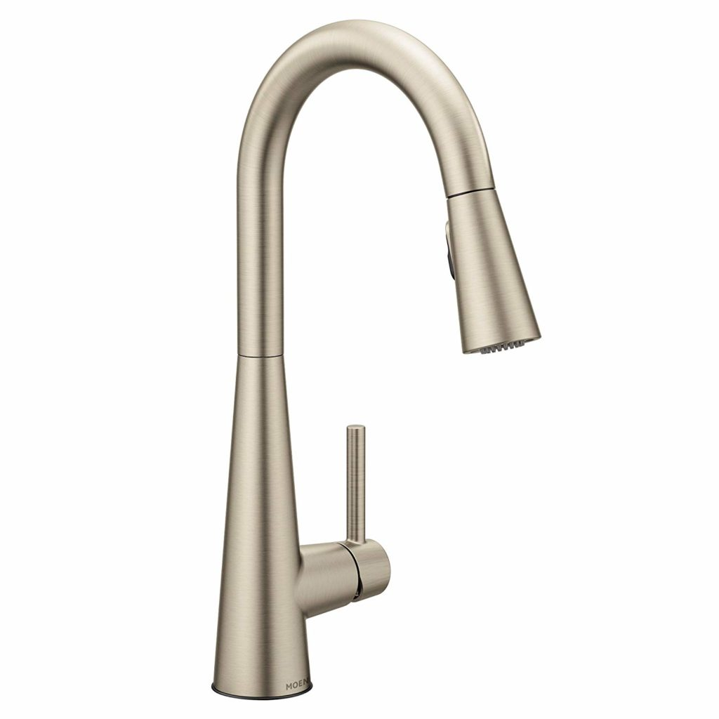 Moen 7864SRS Sleek One-Handle High-Arc Pulldown Kitchen Faucet