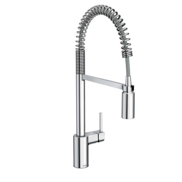 Moen Align One-Handle Pre-Rinse Spring Pulldown Kitchen Faucet