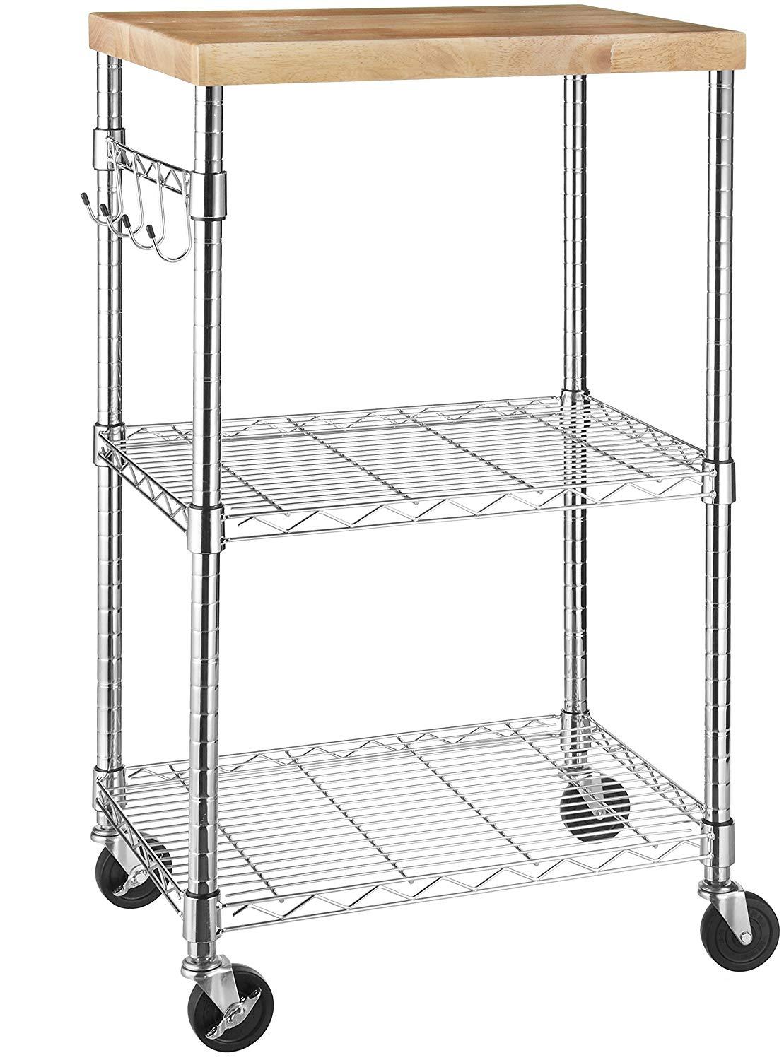 AmazonBasics Microwave Cart on Wheels