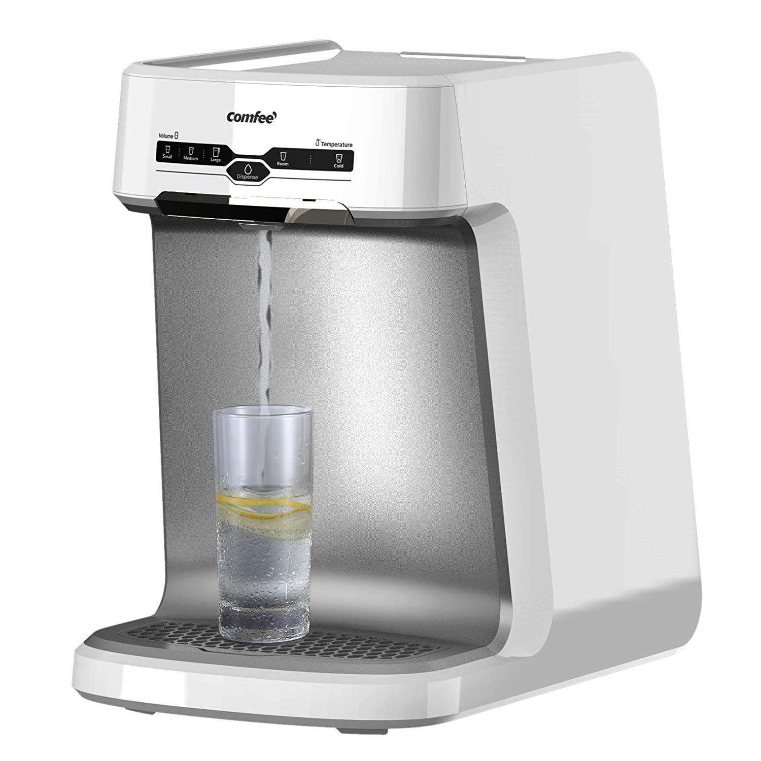 Comfee Countertop Mini Water Cooler Dispenser with Filter