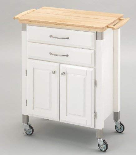 Home Styles Dolly Madison Prep and Serve Cart