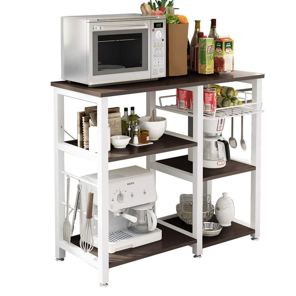 Soges 3-Tier Kitchen Baker's Rack Utility Storage Cart